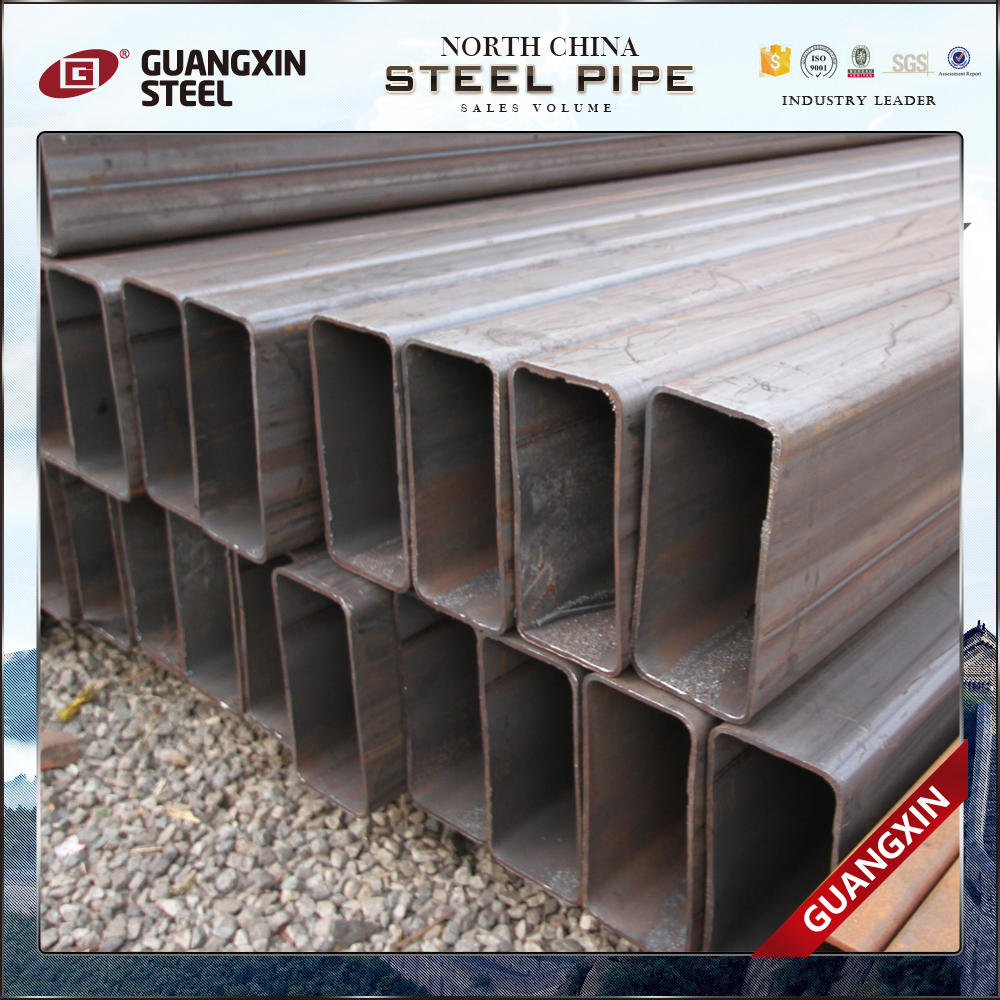 erw black steel square pipe build finishing materials