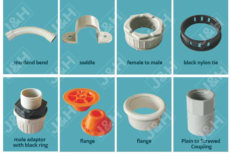 made in China Australian standard pvc saddle 20mm, as/nzs 2053 PVC plastic tube clip 20mm
