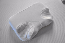 Nasal Pillow CPAP Memory Foam Neck Pillow with Ear Hole