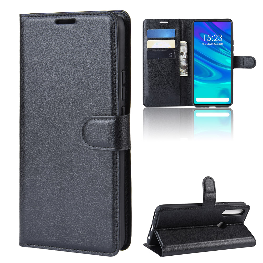 9 Colors Litchi PU Card Holder Wallet Flip Leather <strong>Case</strong> For Huawei P Smart <strong>Z</strong> /Nova 5i