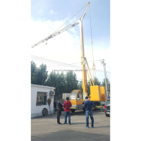 Travelling tower crane 24m cheap machine