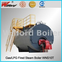 Fire Tube Gas Steam Boiler Amp
