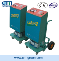 Car Refrigerant Car A/C Refrigerant Recovery Recycle Machine with Oil Less Compressor