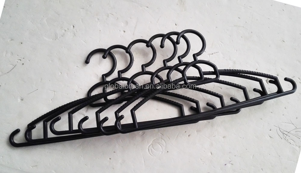 Item No 8311-3 black cheap clothes hanger