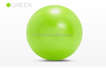 Home Fitness PVC Pilates Yoga Ball with Free Pump