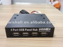 "3.5"" Inch Internal Front Panel 4 Port USB Hub"