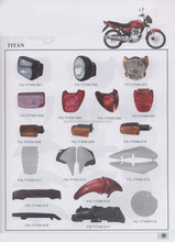 TITAN125 150 motorcycle parts/Brasil motorcycle spare parts/South America motorcycle parts