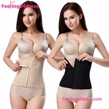 Dropshipping Plus Size 6 Hooks Waist Shaper Best Waist Trainer Corset