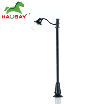 G OO HO TT Z N Scale Model Garden Lamp Post Street Light for architectural model and train layout