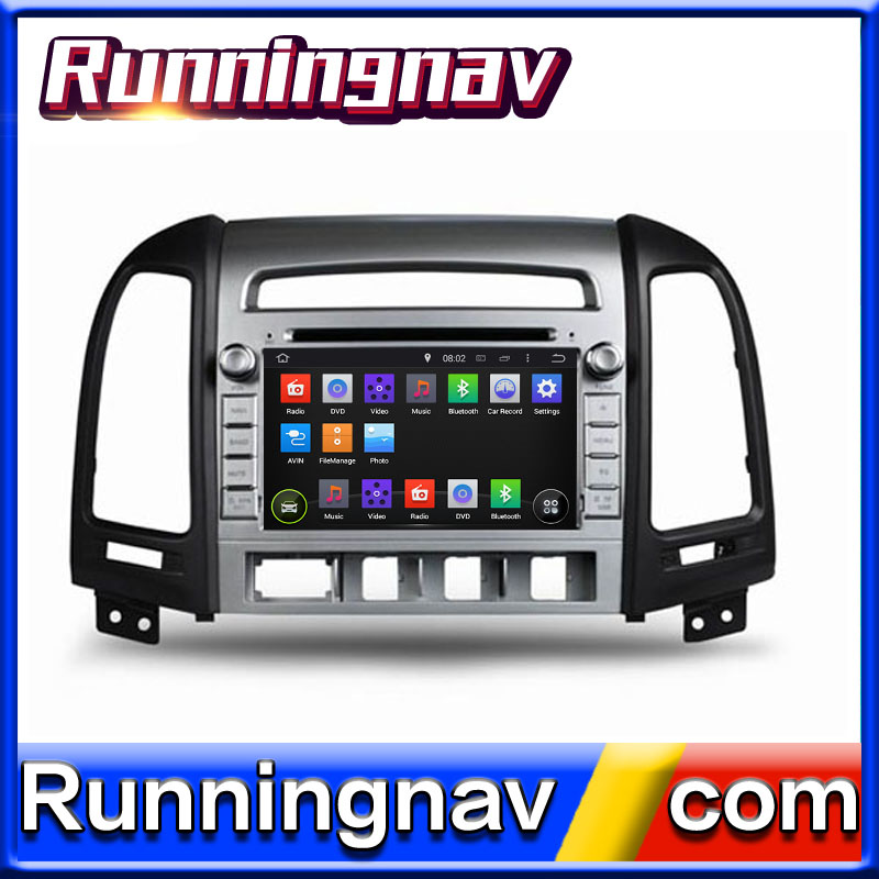"7"" in dash Car DVD Player with GPS Navigation For Hyundai Santa fe 2006-2011"