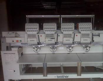 Embroidery Machine Brother 4 head BES 1240 BC