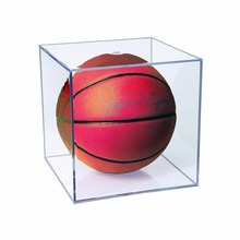Clear Acrylic Basketball Display Box Toy Display Case with UV Protection