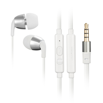Wallytech Honeybee Headphone Earphones with Microphone for Android and for iPhone