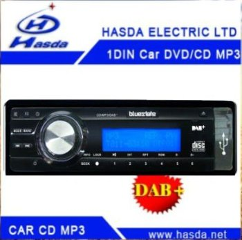 DAB+ digital radio ,car one din cd /mp3 ,with digital radio ,DAB+ plus , USB/SD,Wholesaler for european market ~