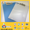 Customized plastic clipboard PVC board with patent clip for promotional items