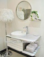 BONNYTM 8403 Top grade Vessel Sink Vanity Top