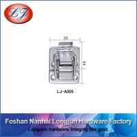 LJ-A005 chromed toggle latch for suitcase box