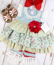 2017 fall winter dress strip clothes baby sets sparkle girls clothing