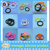 China manufactuer clear soft silicone rubber O ring waterproof rubber ring