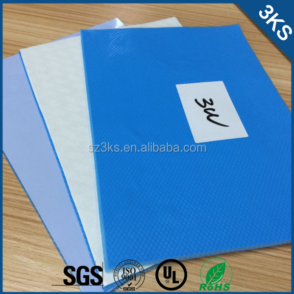 2015 Hot Sale Double Sided Adhesive Silicone Thermal Pads/Sheet/Tapes