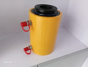 High quality 30 ton hollow hydraulic cylinder type price