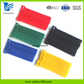 garment industry Cable hook and loop ties
