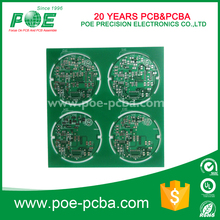 Customized FR-4 round led light pcb board service with best price