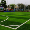 Artificial football pitch synthetic grass