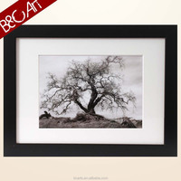 Z(9022) Lonely tree landscape famous black white paintings