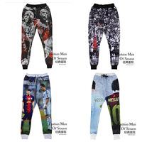fashion men sweatpants 3D colored sweatpants patterned sweatpants