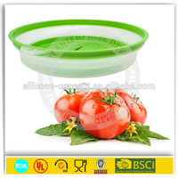 foldable food plate cover plastic food covers