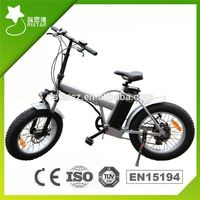 2016 Popular 48V coyote connect folding electric bike with LED light