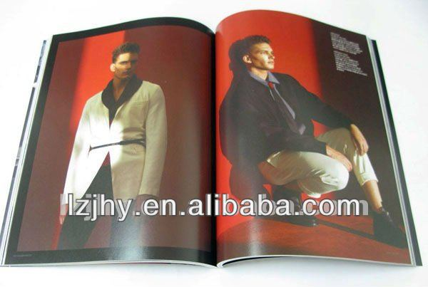 A4 Color fashion magazine / adult magazine printing service