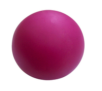 solid rubber ball/balls dimple lacrosse balls for training
