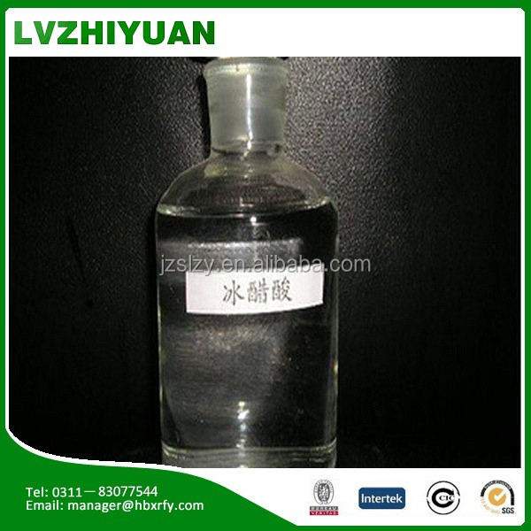 Printing industrial grade 99.5% glacial acetic acid price