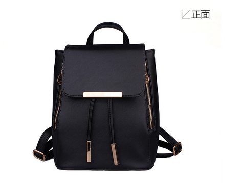 2016 Hot new style fashion backpack, leather handbag,leather backpack China supplier