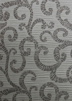 graceful decorative wall fabric/wallpaper
