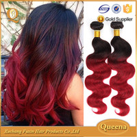 two tone ombre crochet hair extension, wholesale cheap brazilian hair bundles