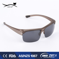 Ce Certified High Quality Classic Colorful Cool Design Optics Bifocal Sunglasses For Men Emboss