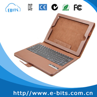 new product leather bluetooth keyboard case for ipad 2 3 4