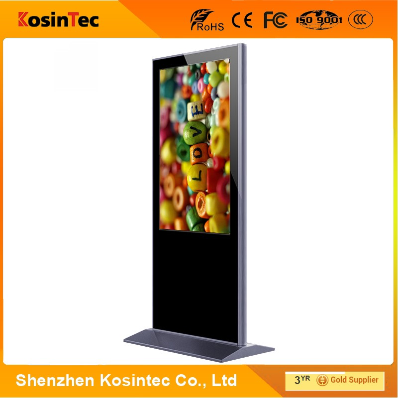 42' LCD Digital Signage With Shoes Polisher