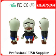 Full capacity new shape usb 2.0 flash drive ,custom shape pvc tooth usb pen drive , paypal/escrow accept