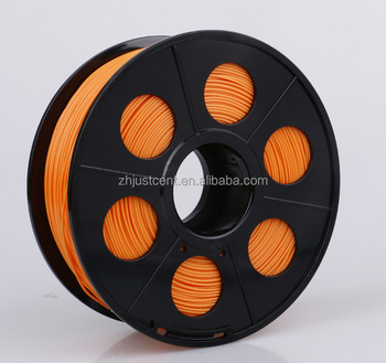 Light orange 1.75mm & 3mm PLA / ABS 3D printer filament