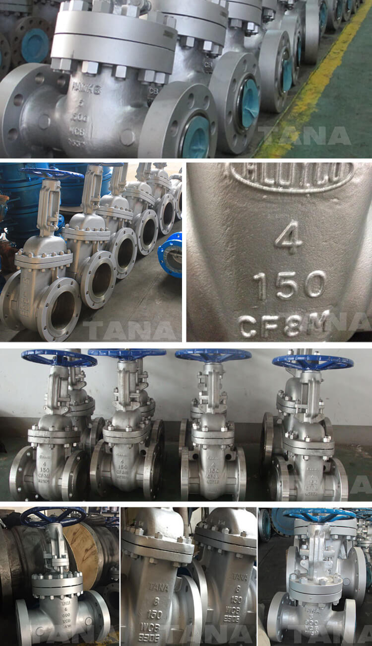 High pressure Class1500 flanged pressure seal gate valve
