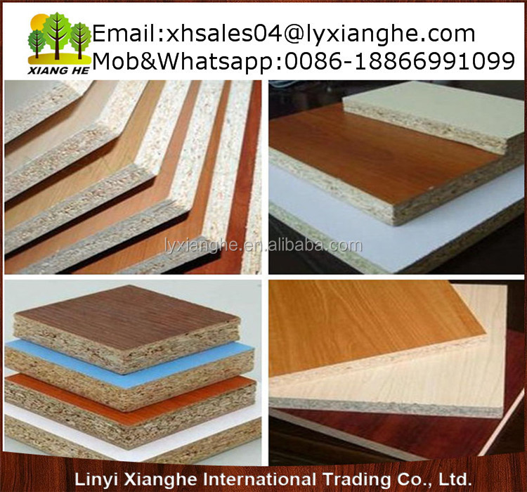 Types of wood particle board indoor usage melamine
