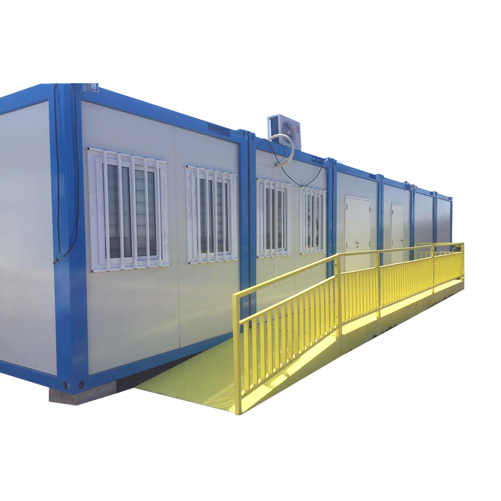 Shipping container glass house modular export tiny prefabricated house