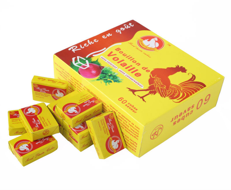 Halal Chicken Seasoning Cubes Manufacturer/ Chicken Bouillon Cubes Supplier