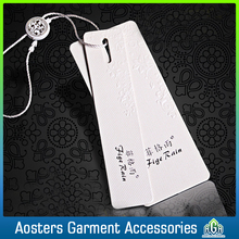 custom wholesale clothes brand name hang tags for clothing