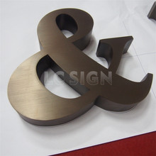 Indoor small decorative metal high quality led key cutting sign