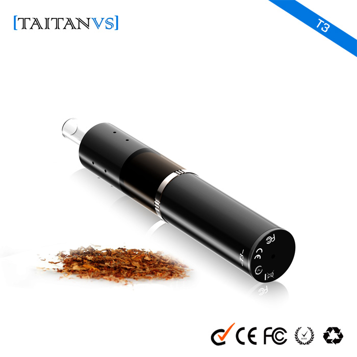 New innovative vaporizer pen Taitanvs-T3 New trend products disposable wax dry herb vaporizer battery